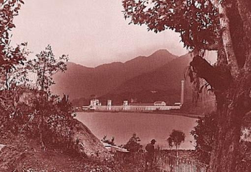 """Fabrica Corcovado"" Marc Ferrz. C. 1895. Acervo IMS."